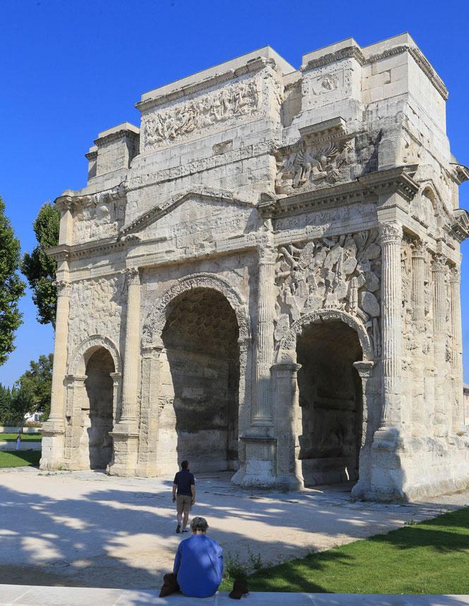 Arc de triomphe d'Orange ©Hocquel A.
