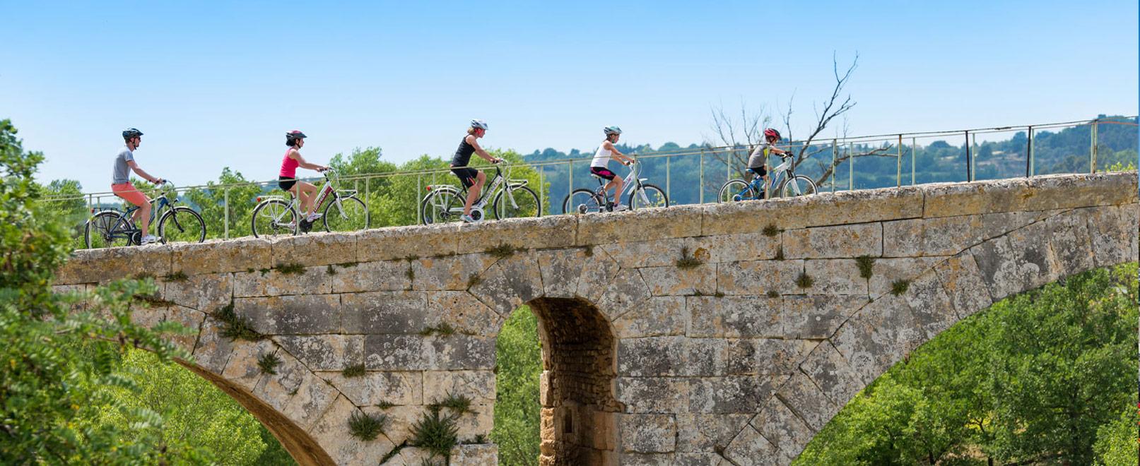 El río Calavon en bici