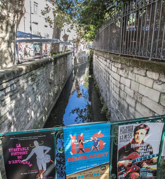 Rue des Teinturiers à Avignon @ Kessler