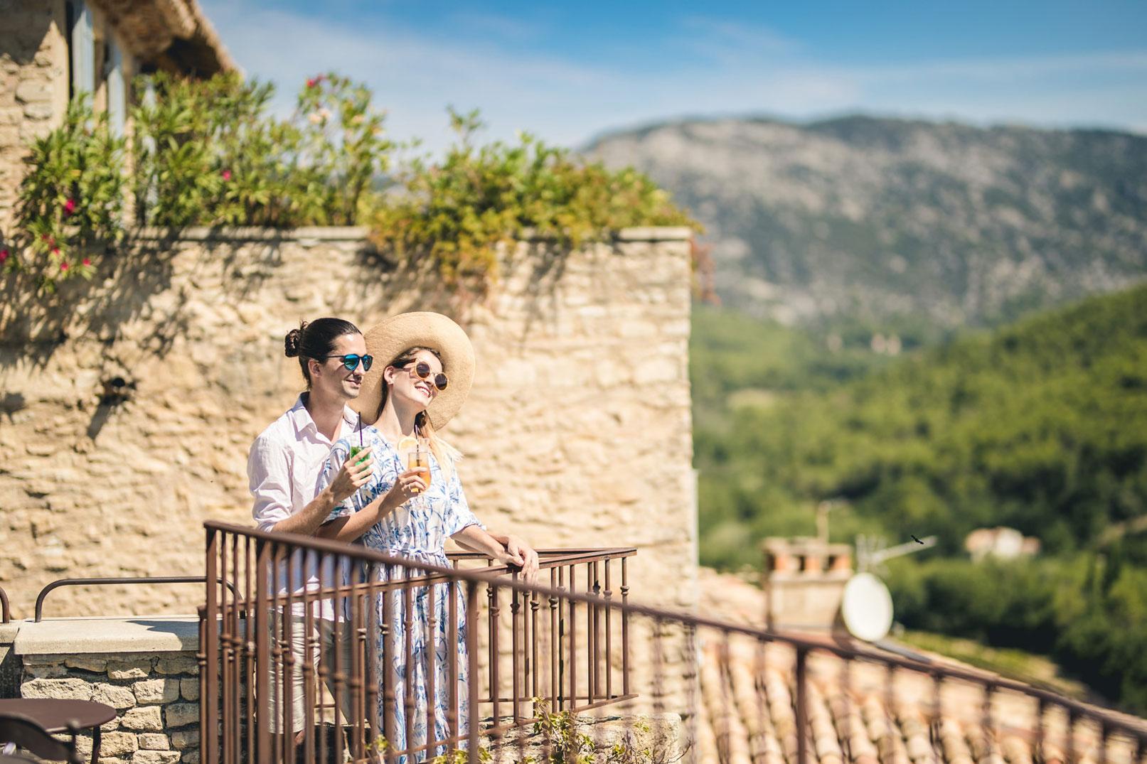 Fin de semana romántico en Luberon