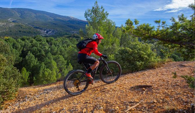 Bici de montaña en Vaucluse @ Hocquel