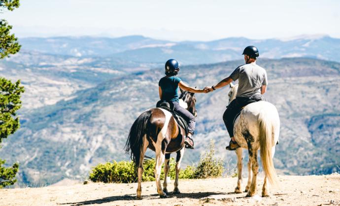 Paseos a caballo - Ventoux
