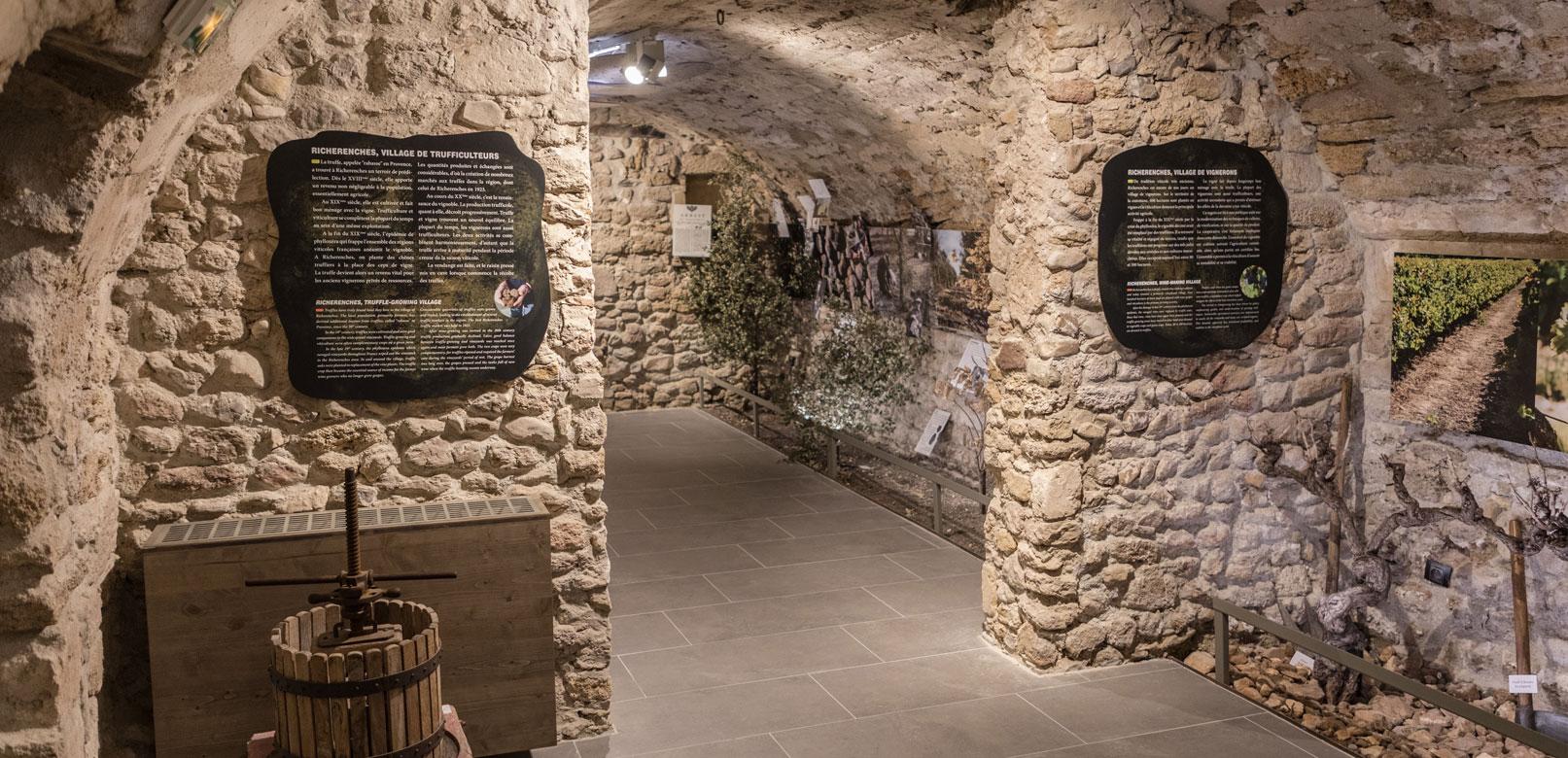 Museo de la trufa de Richerenches © Kessler